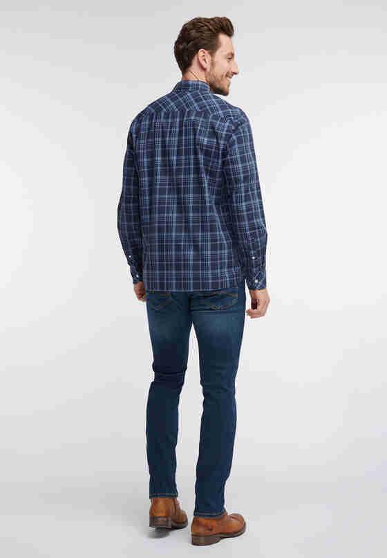 Hemd Freizeit-Hemd, Blau, model