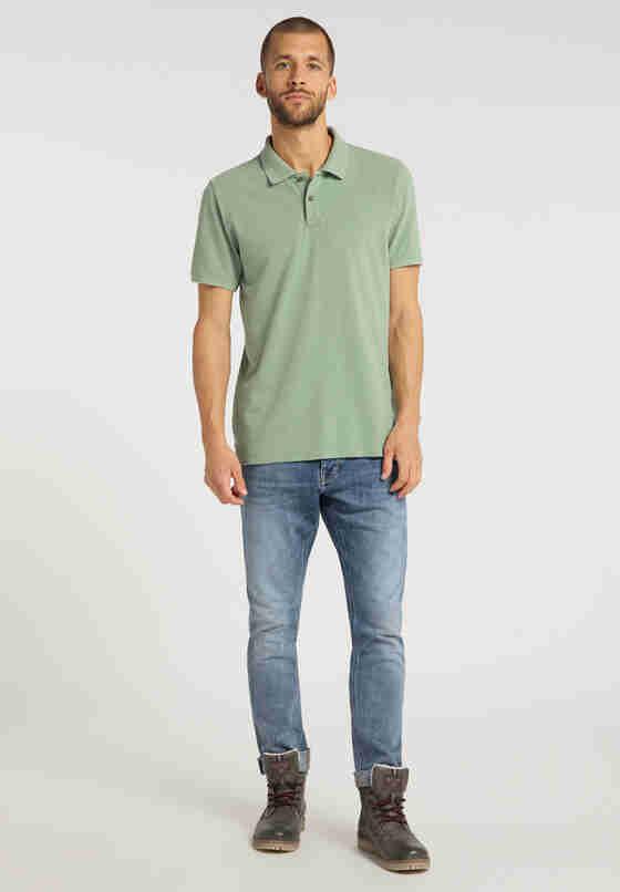 T-Shirt Poloshirt, Grün, model
