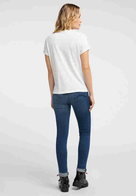 T-Shirt Alina C Print, Weiß, model