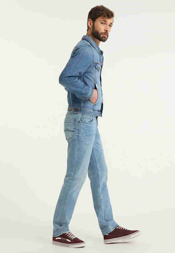 Jacke Jeansjacke, Blau 313, model