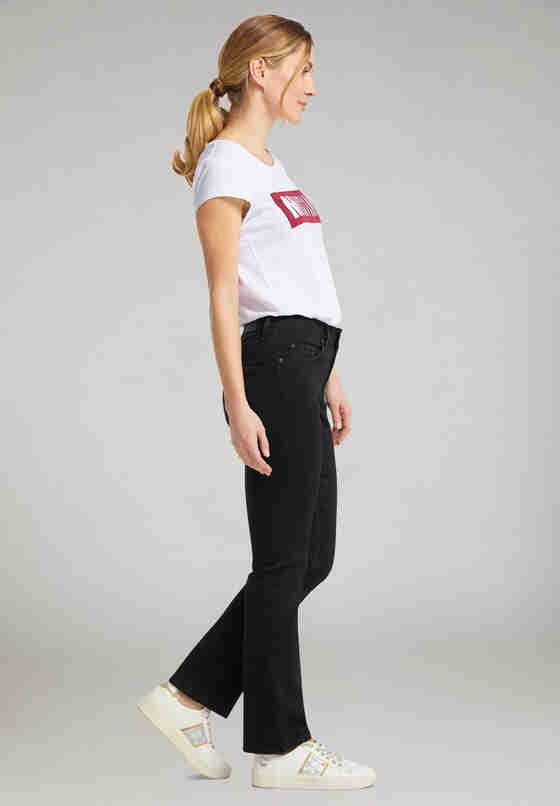Hose Julia Straight, Schwarz, model
