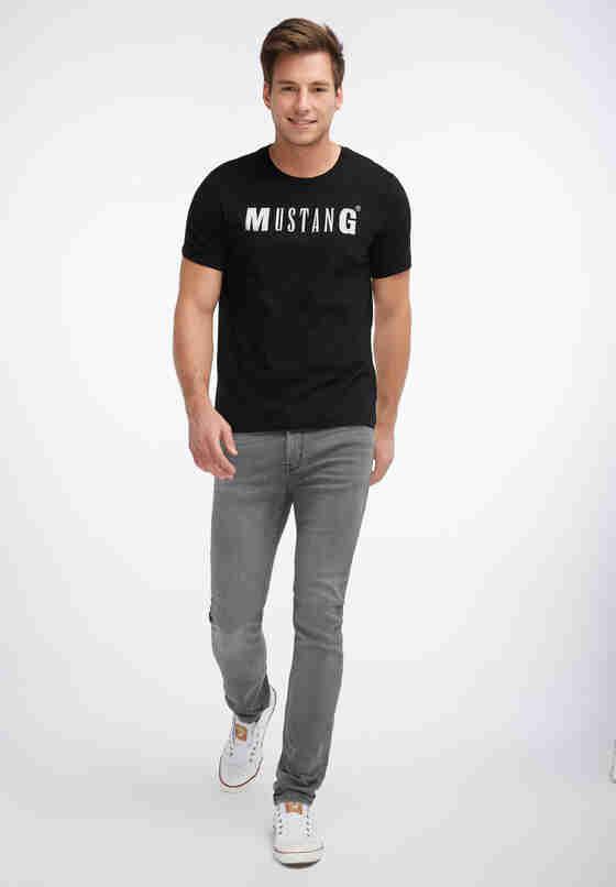 T-Shirt Logoshirt, Schwarz, model