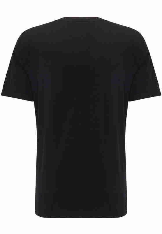 T-Shirt Shirt-Doppelpack, Schwarz, bueste
