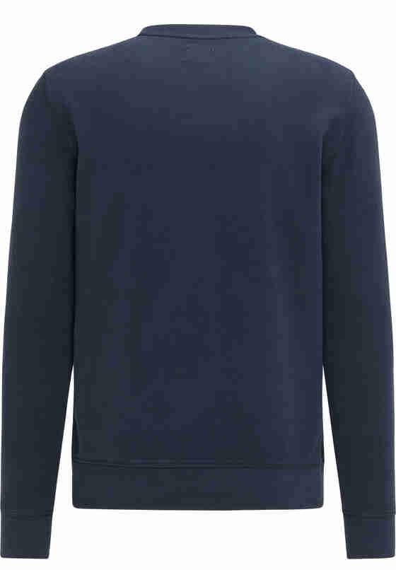 Sweatshirt Logo-Sweater, Blau, bueste