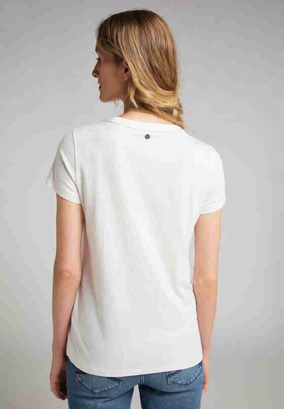 T-Shirt Logoshirt, Weiß, model