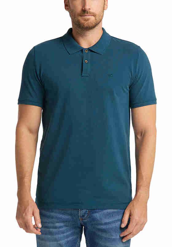 T-Shirt Poloshirt, Blau, model
