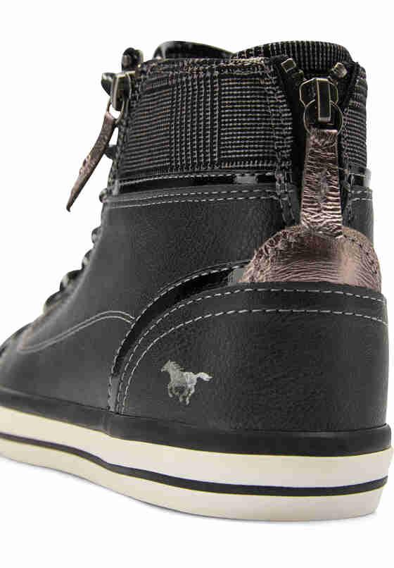 Schuh High Top Sneaker, Grau, bueste