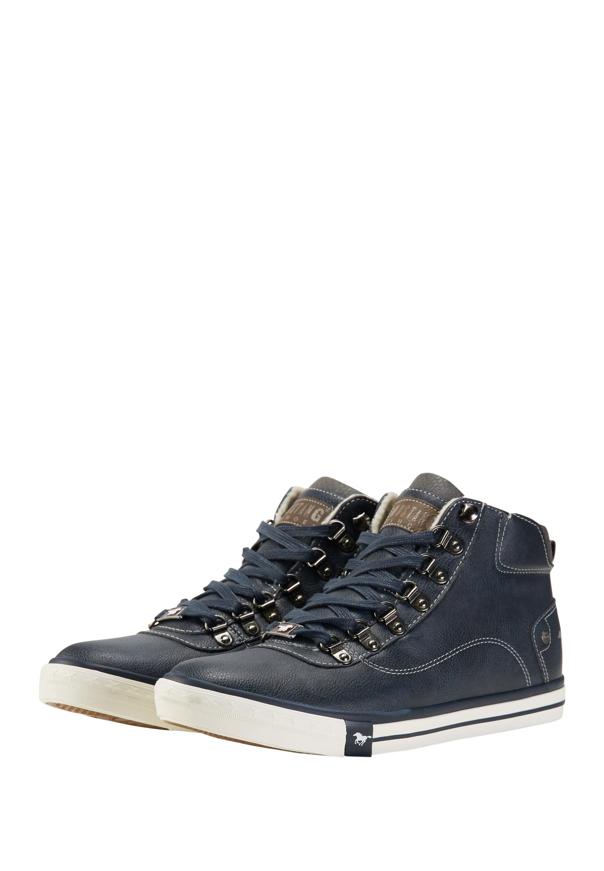 mustang sneaker high blau