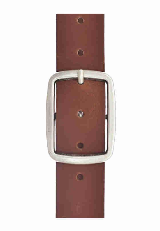 Accessoire Echtledergürtel, Braun, bueste