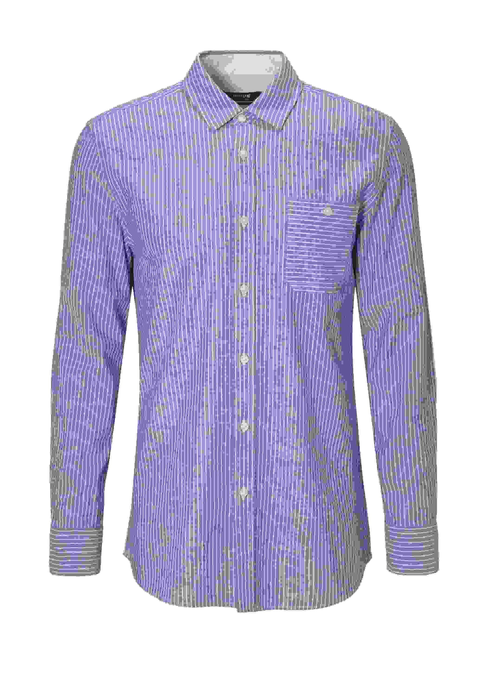Hemd Hemd im Streifen-Look