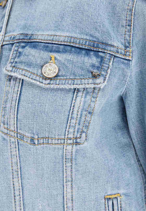 Jacke Denim Jacket, Blau 587, bueste