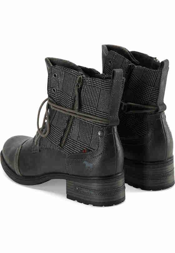 Schuh Schnür-Stiefelette, Grau, bueste