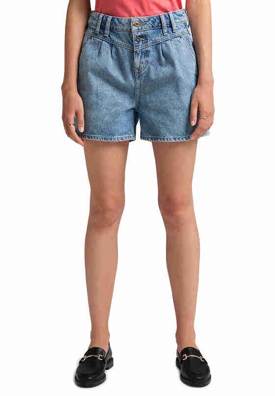 Hose Relaxed Moms Shorts, Blau 310, model