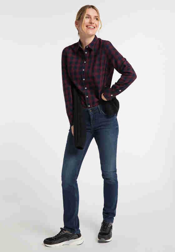 Hose Jasmin Slim, Blau 882, model