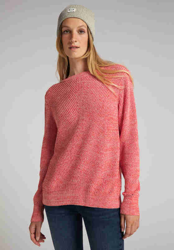 Sweater Strickpullover, Rot, model