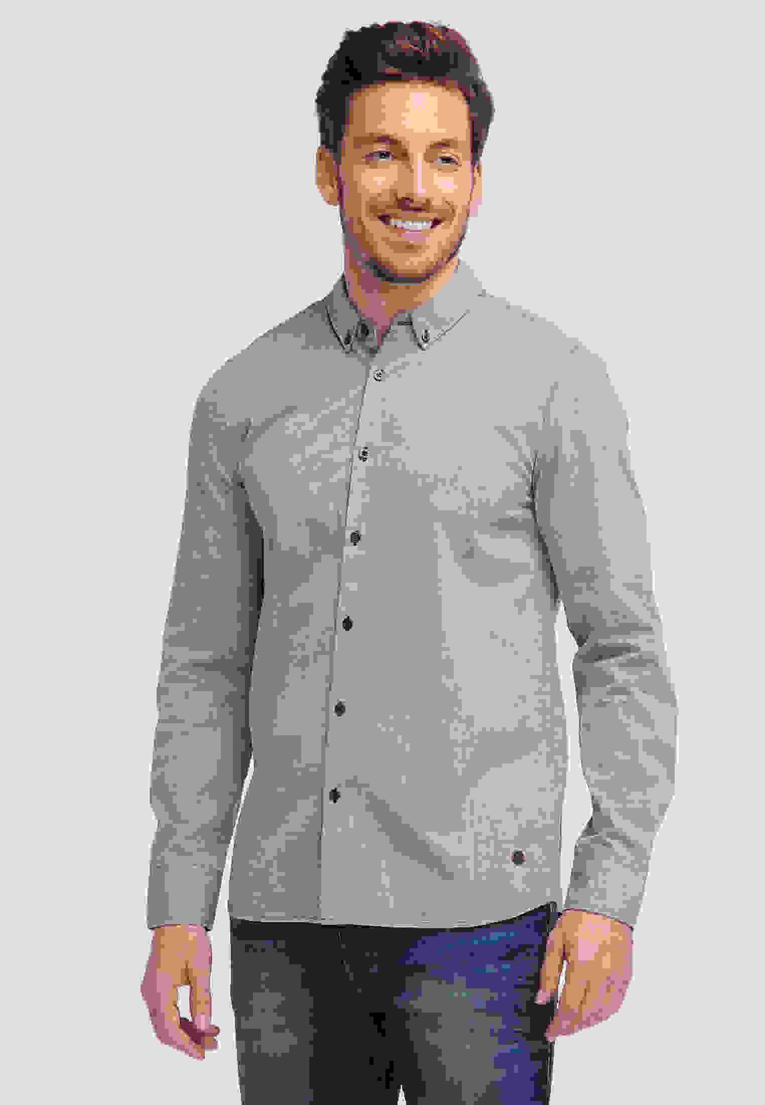 Hemd Button-down-Hemd