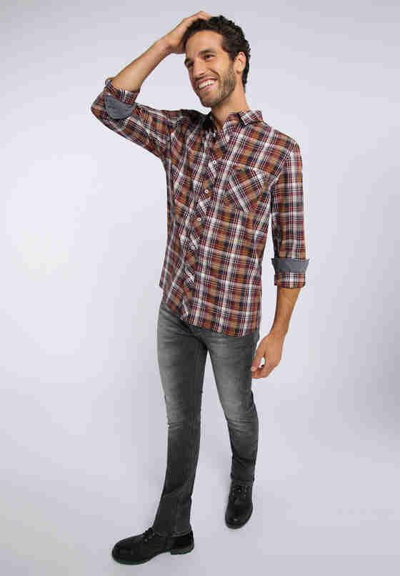 Hemd Clemens KC B-Check, Bunt, model