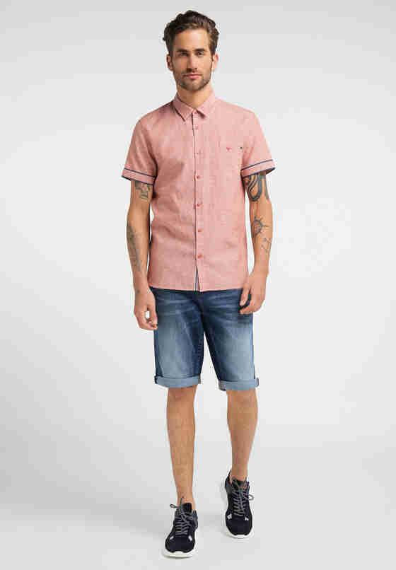 Hemd Chris Linen Shirt, Rot, model
