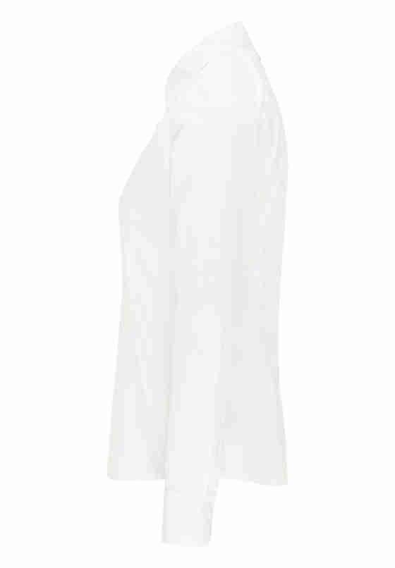 Bluse Hemdbluse, Weiß, bueste