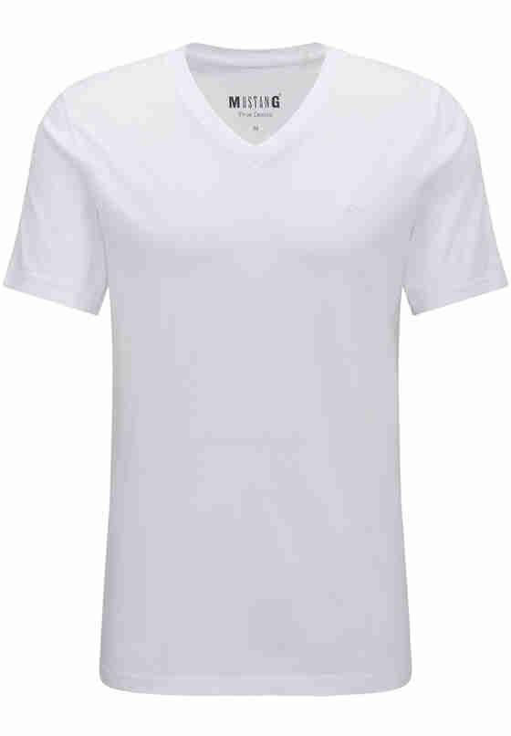 T-Shirt Shirt-Doppelpack, Weiß, bueste