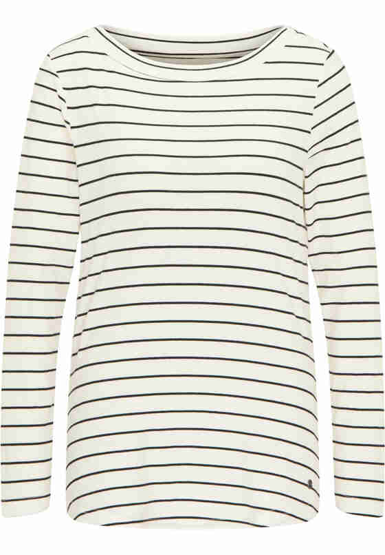 T-Shirt Langarmshirt, Weiß, bueste
