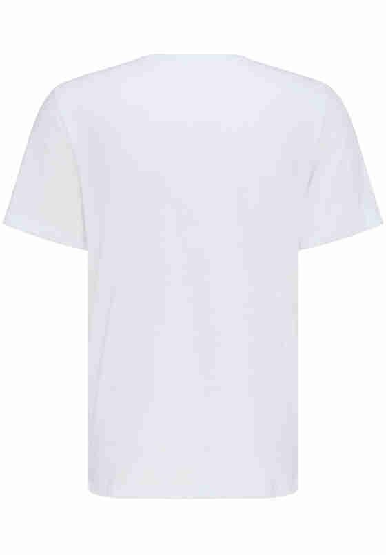 T-Shirt Logo T-Shirt, Weiß, bueste