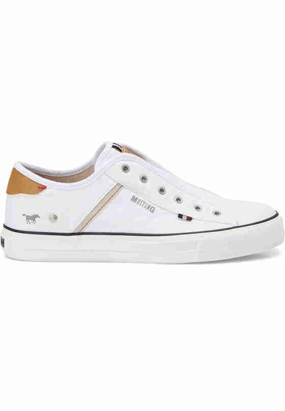 Schuh Sneakers, Weiß, bueste
