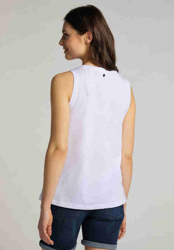 T-Shirt Tanktop, Weiß, model