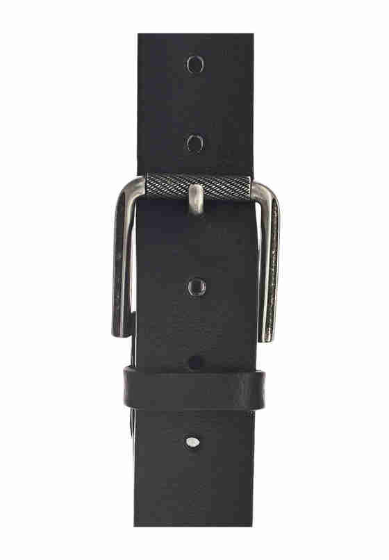 Accessoire Vollrindledergürtel, Schwarz, bueste