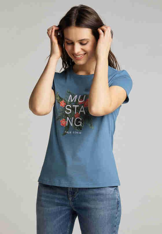 T-Shirt T-Shirt, Blau, model