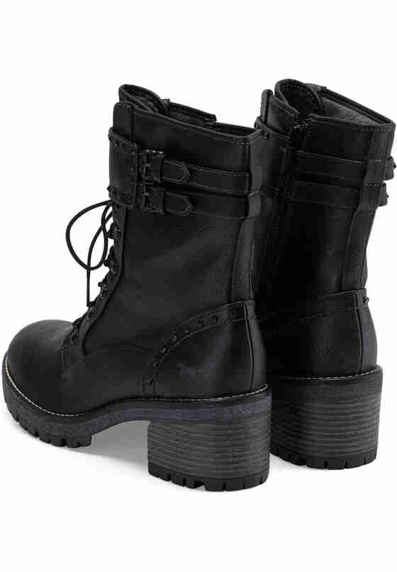 Schuh Stiefelette, Grau, bueste