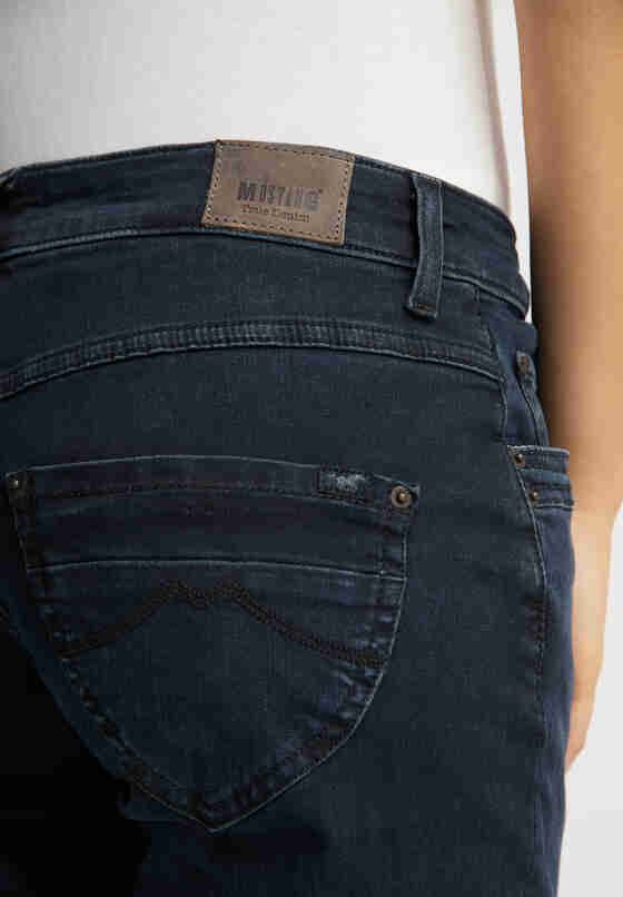 Hose Sissy Straight, Blau 884, model
