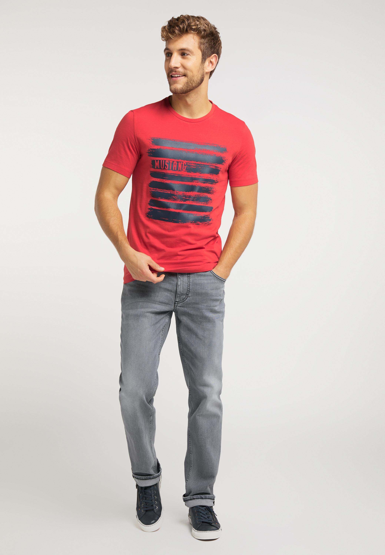 T Shirt mit markantem Frontprint