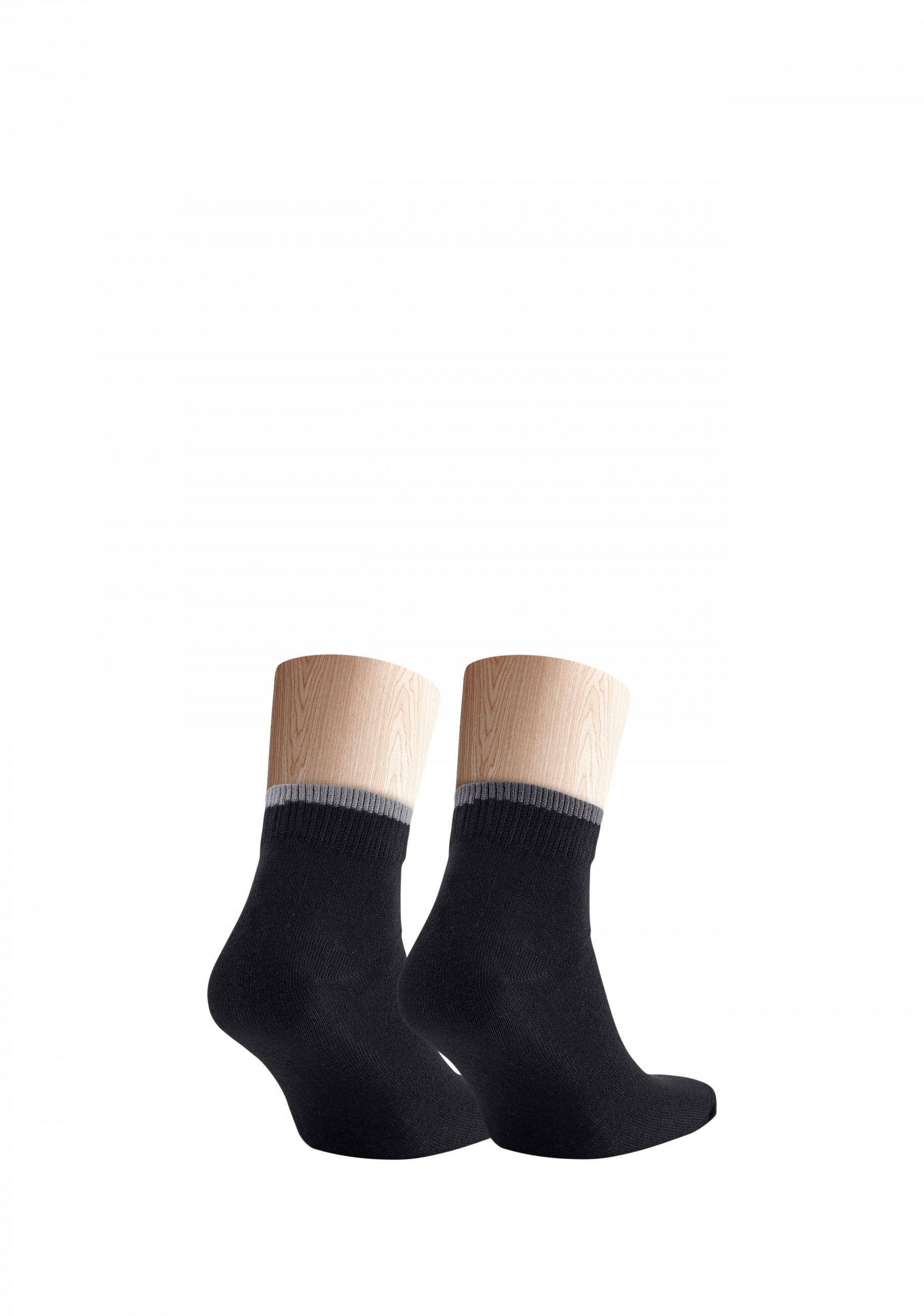 4x elastische Socken mit niedriger Schafthöhe