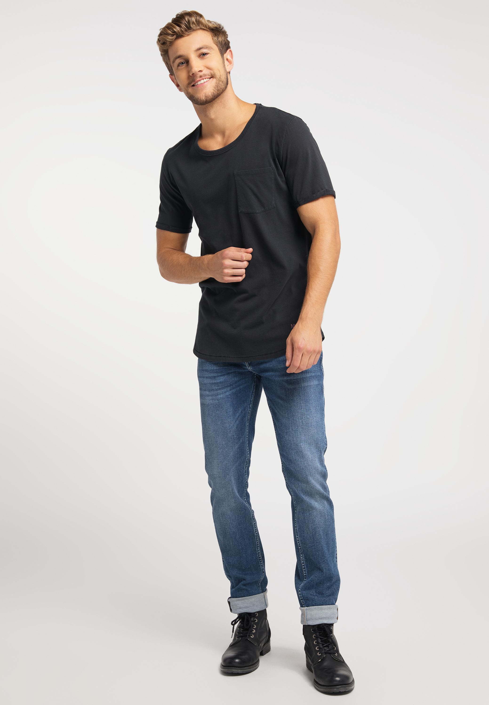 T Shirt aus purer Baumwolle