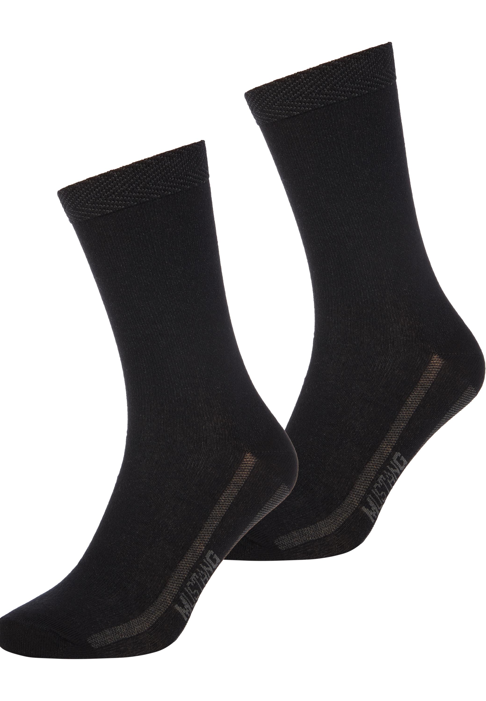 Socken mit Streifen-Detail